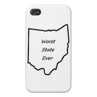 Ohio Worst State Ever Covers For iPhone 4