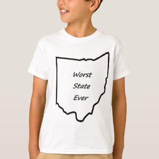 Ohio Worst State Ever T-Shirt