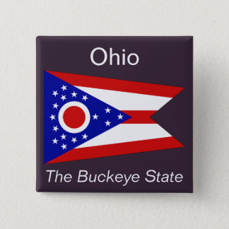 Ohioan Flag Button