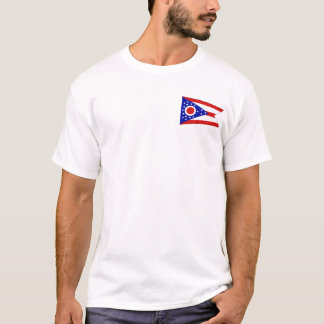 Ohioan Flag + Map T-Shirt