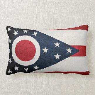 Ohioan Flag Throw Pillow