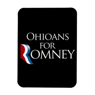 Ohioans para Romney - .png Imán Flexible
