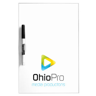 OhioPro Media and Video Productions Dry Erase Whiteboard