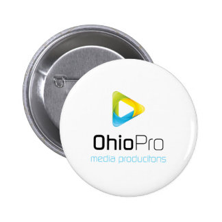 OhioPro Media and Video Productions Pinback Button