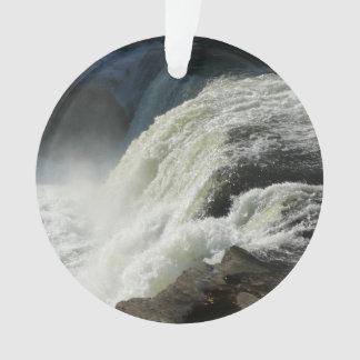 Ohiopyle Falls in Pennsylvania Ornament