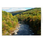 Ohiopyle River in Fall I Pennsylvania Autumn Card