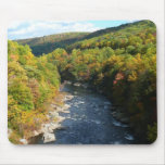 Ohiopyle River in Fall I Pennsylvania Autumn Mouse Pad
