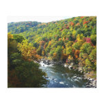 Ohiopyle River in Fall II Pennsylvania Autumn Canvas Print