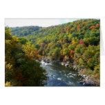 Ohiopyle River in Fall II Pennsylvania Autumn Card