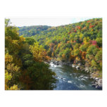 Ohiopyle River in Fall II Pennsylvania Autumn Photo Print
