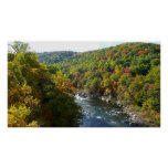 Ohiopyle River in Fall II Pennsylvania Autumn Poster