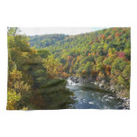 Ohiopyle River in Fall II Pennsylvania Autumn Towel