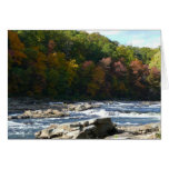 Ohiopyle River Rapids in Fall Pennsylvania Autumn Card