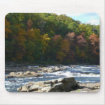 Ohiopyle River Rapids in Fall Pennsylvania Autumn Mouse Pad