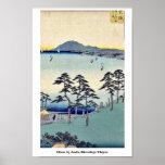 Ohiso by Ando, Hiroshige Ukiyoe Poster
