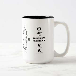 Ohm A Unit Of Electrical Resistance (Physics) Coffee Mug
