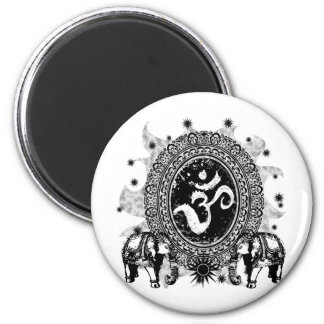 Ohm Cameo 2 Inch Round Magnet