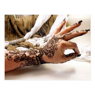 Ohm Henna Postcard