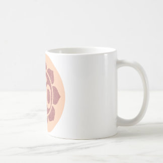 ohm lotus symbol coffee mug