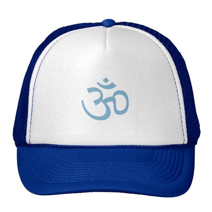 OHM, OM Namaste Yoga, Glacier Blue Trucker Hat