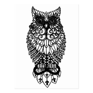 Ohm Owl Post Cards