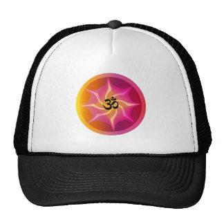 Ohm Psychedelic Spiral Trucker Hat