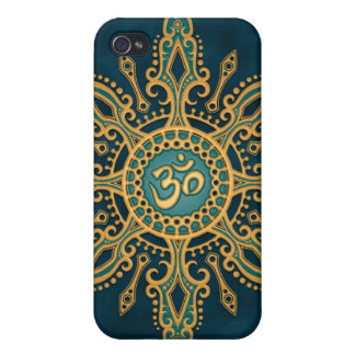 Ohm Star (blue & yellow) Case For iPhone 4