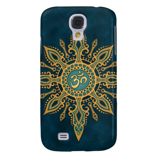 Ohm Star (blue & yellow) Galaxy S4 Cover