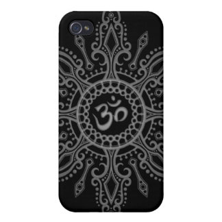 Ohm Star (dark) iPhone 4/4S Covers