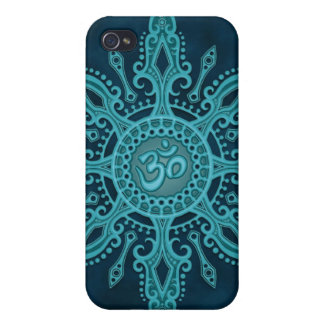 Ohm Star (deep blue) iPhone 4 Case