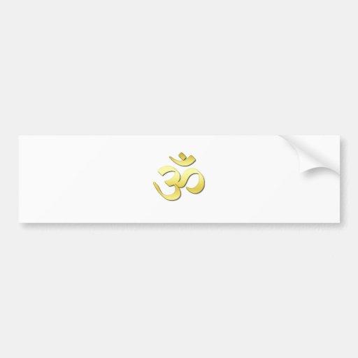 Ohm Symbol Bumper Stickers