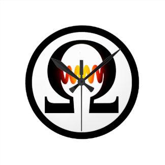 Ohm Symbol Clock