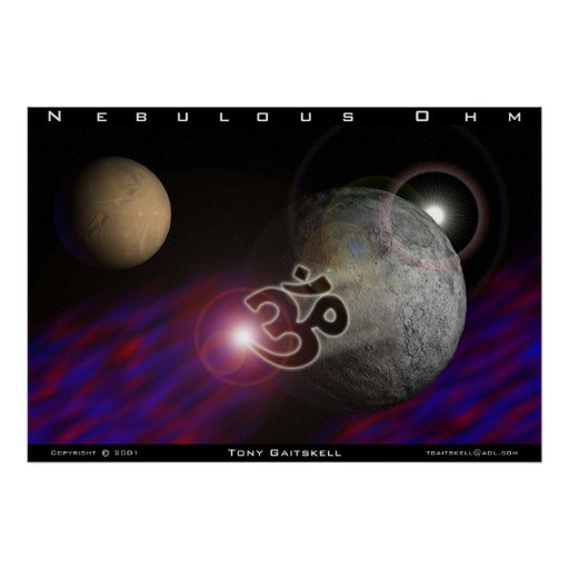 Ohmio nebuloso póster