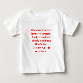 ohm's law baby T-Shirt