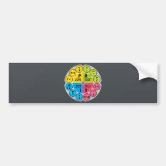 Ohm's Law Circle Bumper Sticker