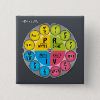 Ohm's Law Circle Button