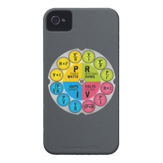 Ohm's Law Circle iPhone 4 Cases