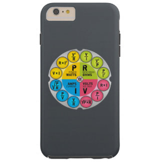 Ohm's Law Circle Tough iPhone 6 Plus Case