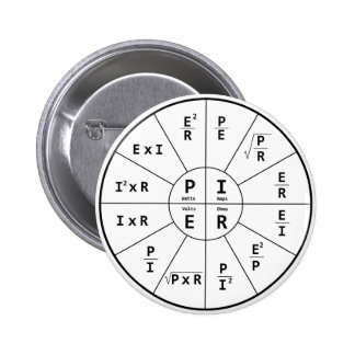 Ohm's Law for DC Pinback Button
