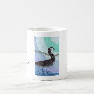 Ohnishi Yasuko Winters Day ukiyo-e bird art Coffee Mug
