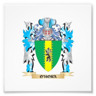 O'Hora Coat of Arms - Family Crest Photo