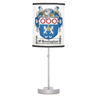 O'Houlaghan Family Crest Table Lamp