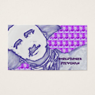 OhPoe (Purplish/Blue) Business Card