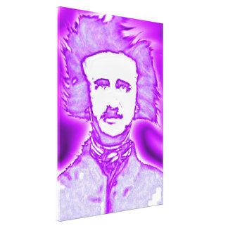 OhPoe (purpurino/azul) Impresiones En Lona Estiradas