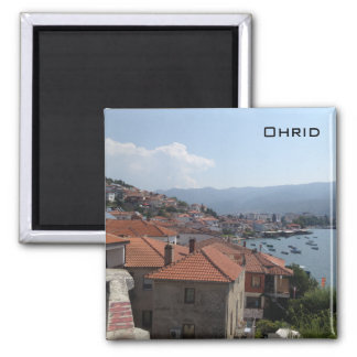 Ohrid 2 Inch Square Magnet