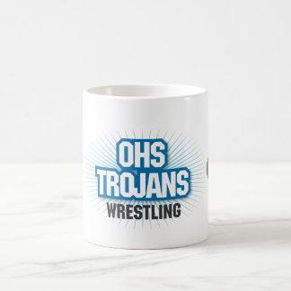 OHS Trojan Wrestling Mug
