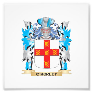 O'Hurley Coat of Arms - Family Crest Photograph