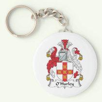 O'Hurley Family Crest Keychain