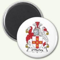 O'Hurley Family Crest Magnet