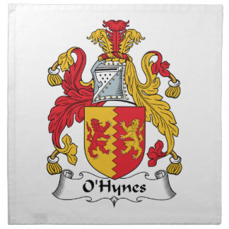 O'Hynes Family Crest Cloth Napkin